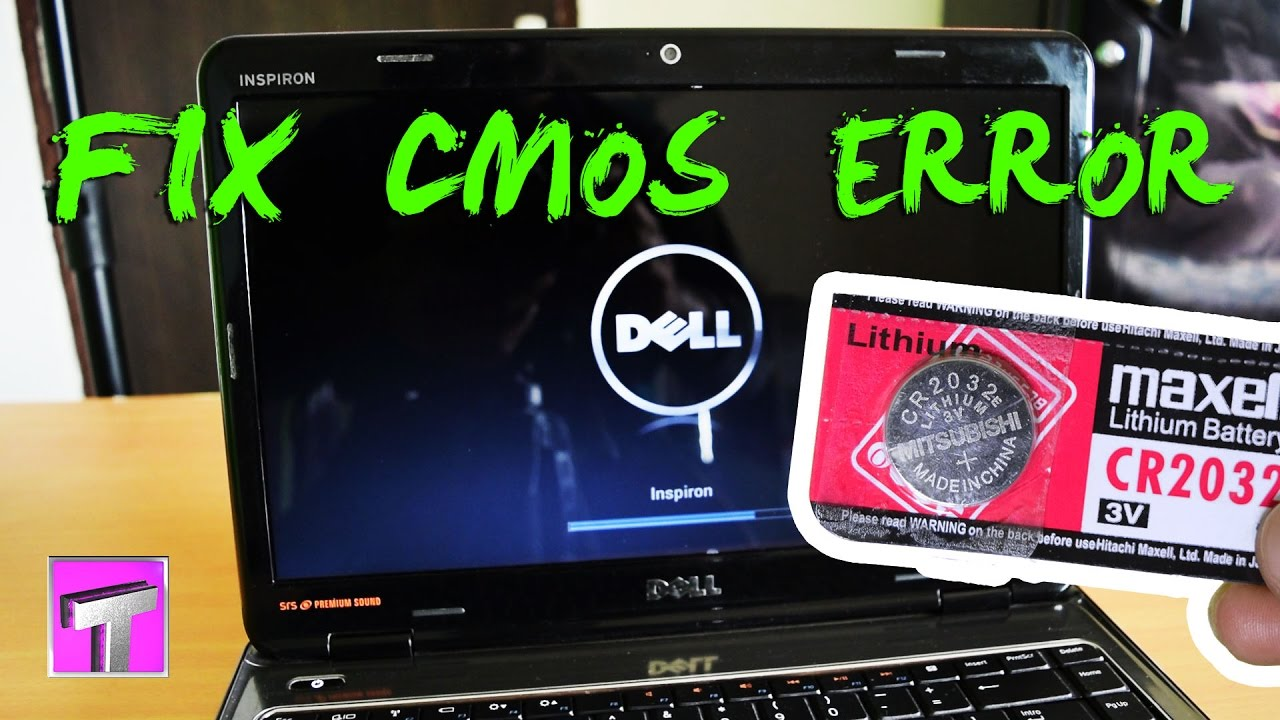 Dell Inspiron N4010 Cmos Battery Replacement Solve Cmos Checksum