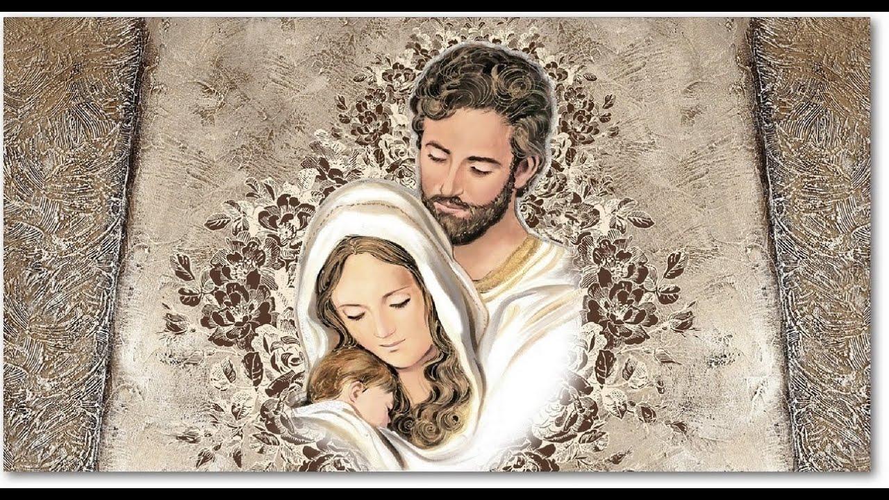 capezzale sacra famiglia stampa su tela youtube
