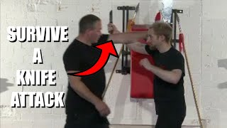 INTERCEPT A KNIFE ATTACK Pt.1 | Sifu Steven Burton