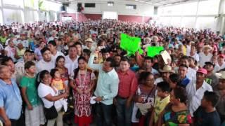 Con mujeres y hombres indígenas de San Juan Bautista Valle Nacional Tuxtepec