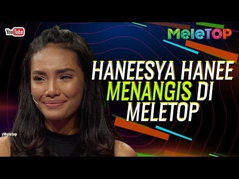 Haneesya Hanee Dewi Remaja 2018 menangis di MeleTOP   Neelofa & Remy Ishak