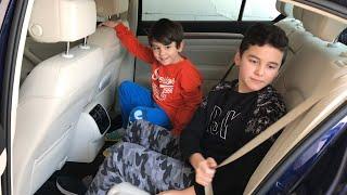 Enes ve Yusuf Fatih Selim'lere gidiyor,bir bavul oyuncak götürüyor 🚗🚗