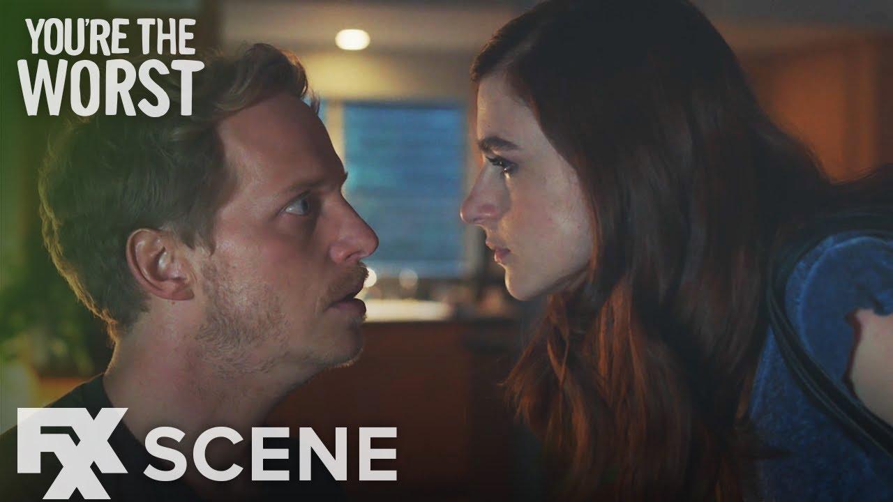 Download You're The Worst | Season 4 Ep. 2: Dot...Dot...Dot... Scene | FXX