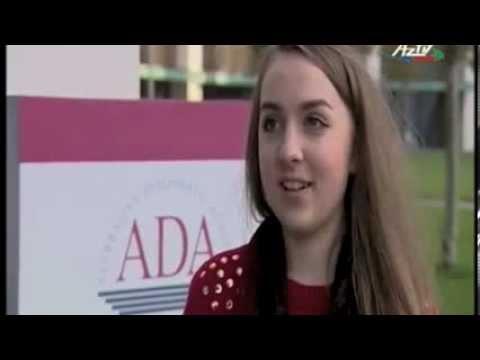 "ADA International Students at ""Students' World"" TV Programme"