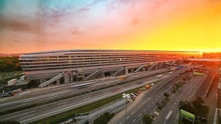 The Squaire time lapse (Frankfurt International Airport, Germany) by panTerra.tv