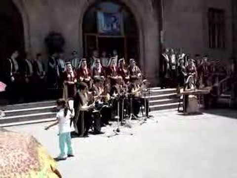 Sayat-Nova music, Yerevan