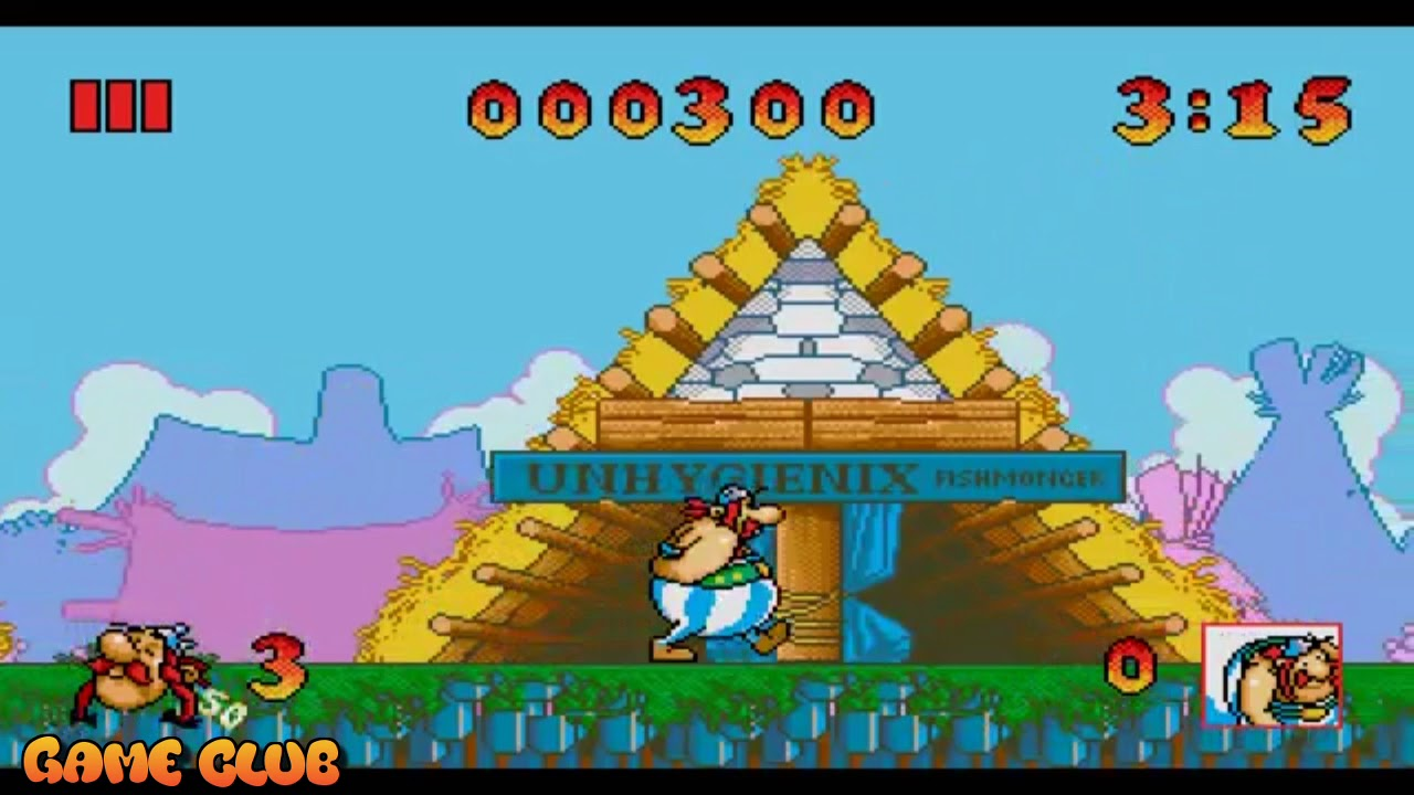Астерикс и великий спасатель / Asterix and the great rescue