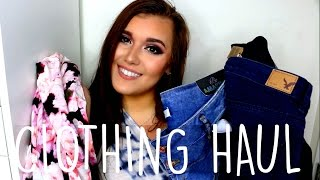 COLLECTIVE CLOTHING HAUL ♡ Plus Size: VS, Nike, BooHoo, ASOS, AE, Forever 21+ & MORE