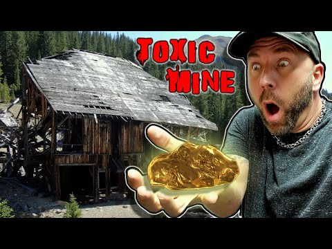 Pennsylvania Mine Colorado - Abandoned Gold Mine With A Drone