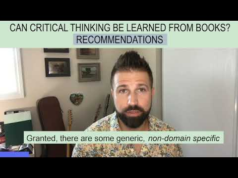 Can You Learn Critical Thinking From Books?