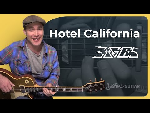 Hotel California - The Eagles INTRO Guitar Lesson Tutorial (BS-624) how to play