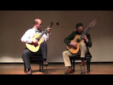 Athens Guitar Duo - Evening Dance (Andrew York)