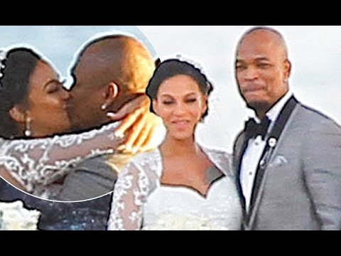 NE YO And Model Fiancee Crystal Renay Ties The Knot WEDDING PICS DISCUSSION