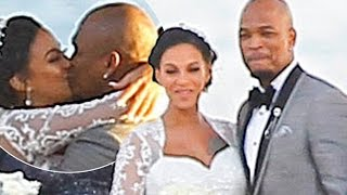 NE-YO and Model Fiancée Crystal Renay Ties the Knot (WEDDING PICS & DISCUSSION)