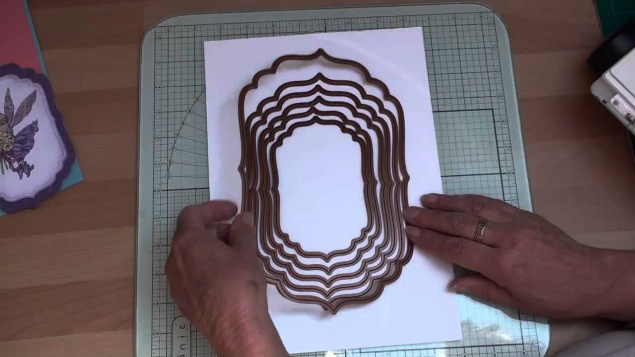 Card Making Ideas Using Dies Part - 18: Die Cutting And Spellbinders (card-making-magic.com) - YouTube