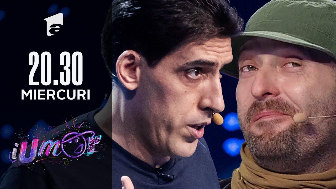Petrișor Obae, super roast la iUmor: Ce am eu cu Antena1? | iUmor 2021