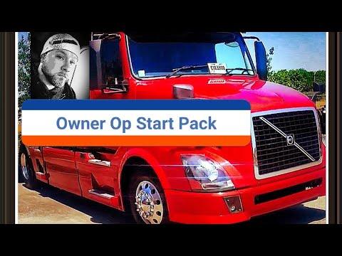 Owner Operator Trucking starter package