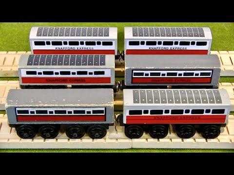 Knapford Express Coaches Re Review Thomas Wooden Railway