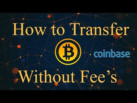 How To Transfer Bitcoin Without Fees Using GDAX - Coinbase
