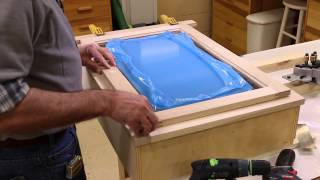 The Down To Earth Woodworker- 5s Shop Wall Cabinet Part 6