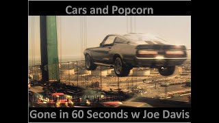Cars and Popcorn: Gone in 60 Seconds w/ Joe Davis