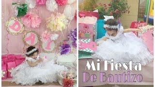 El Bautizo de Dailyn ( mi bebe) 06/14/2015