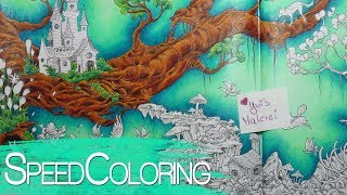 Coloring in MYTHOMORPHIA with Prismacolor | Part1