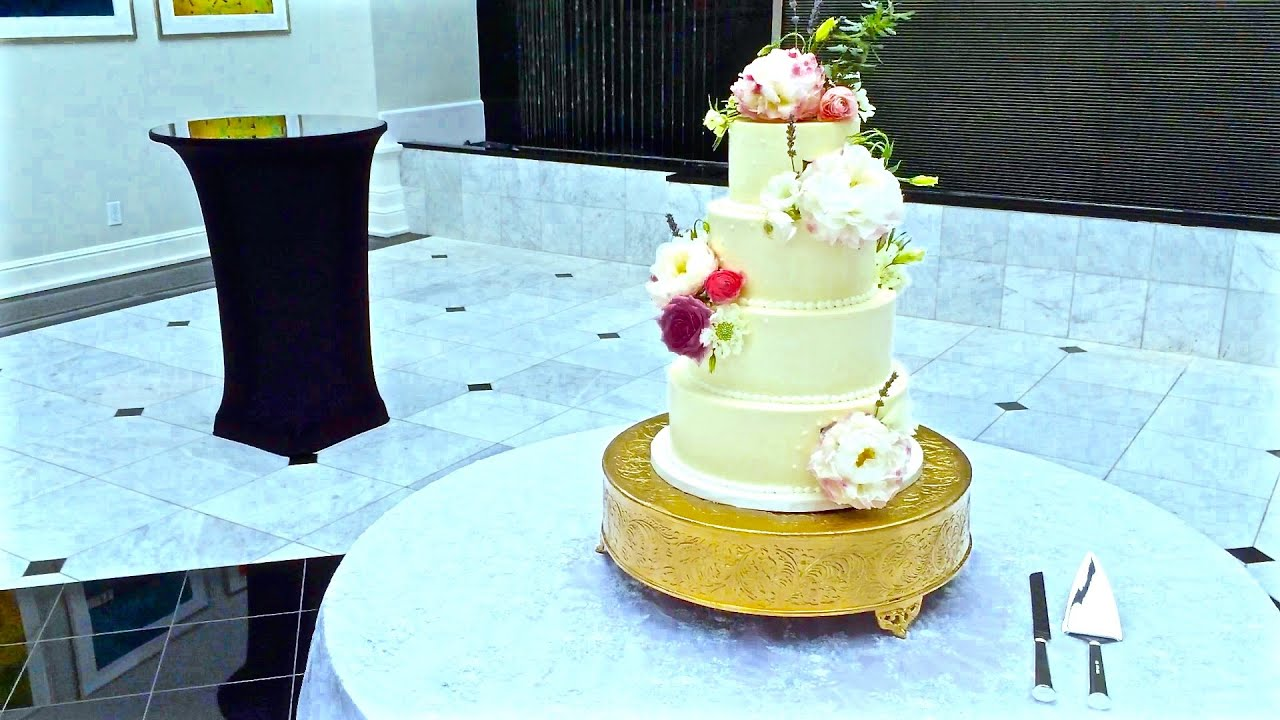 wedding cakes with waterfalls wedding cake waterfall of wedding cakes buttercream 26134