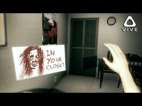 WHAT IS IN MY CLOSET? • John Lazarus - Episode 1: Dead Man's Origins - HTC VIVE GAMEPLAY