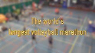 Guiness World Records: Longest volleyball marathon