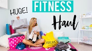 HUGE Summer Fitness Clothing Haul + Try-On! | GIVEAWAY