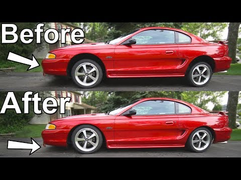How to Lower your car with Coilovers