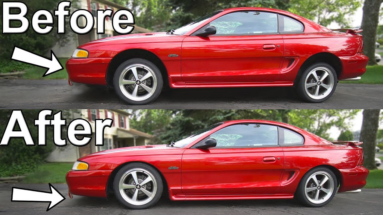 How To Lower Your Car With Coilovers YouTube - Rim websites that show your car