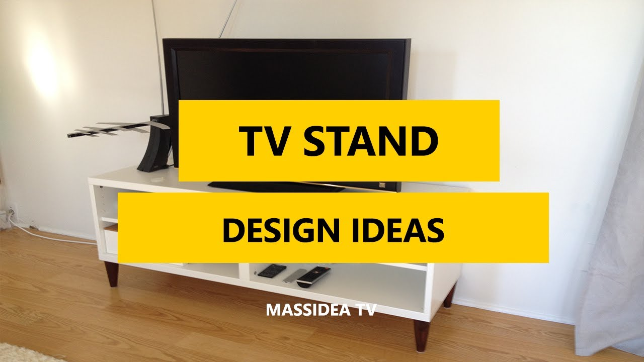 50+ Best Decorative TV Stand Design Ideas 2017 - YouTube
