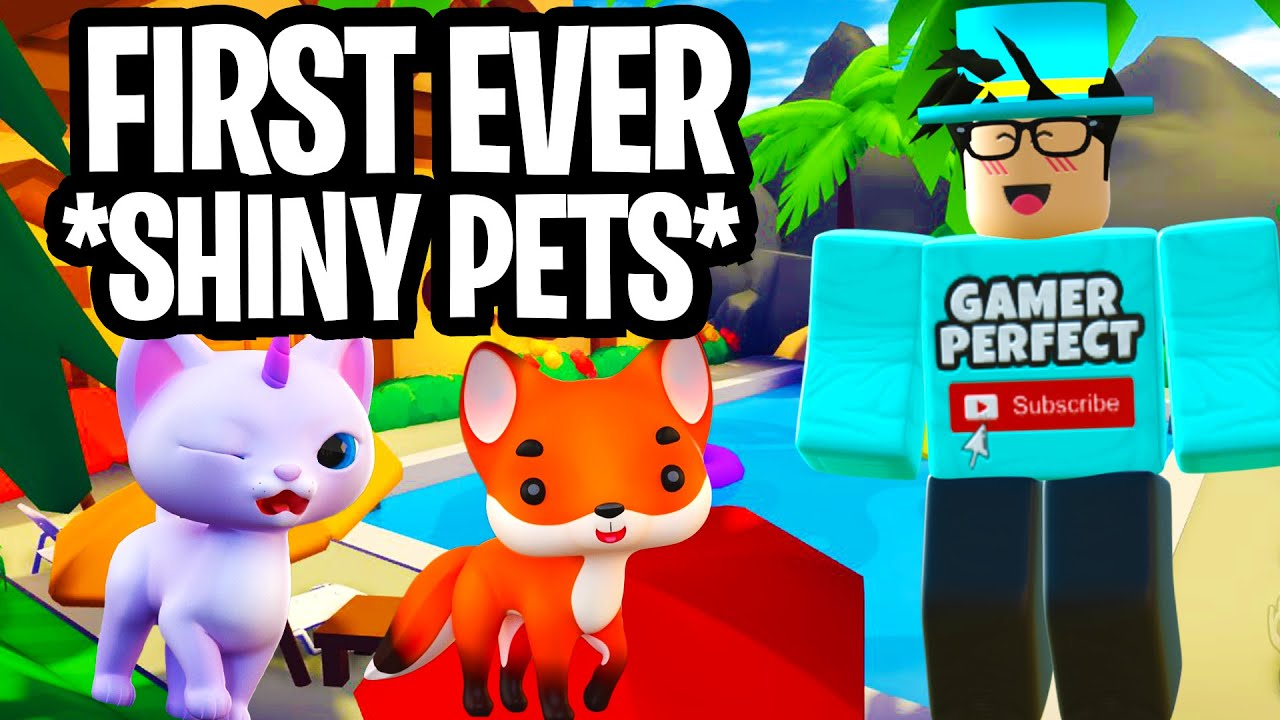 Making The WORLDS FIRST Shiny Pets! - Overlook Bay Roblox!