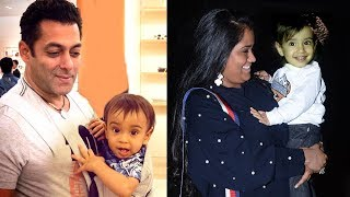 Salman Khan's Sister Arpita Khan's CUTE Son Ahil At Helen's Birthday Party 2017