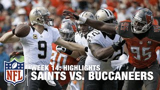 Saints vs. Buccaneers | Week 14 Highlights | NFL