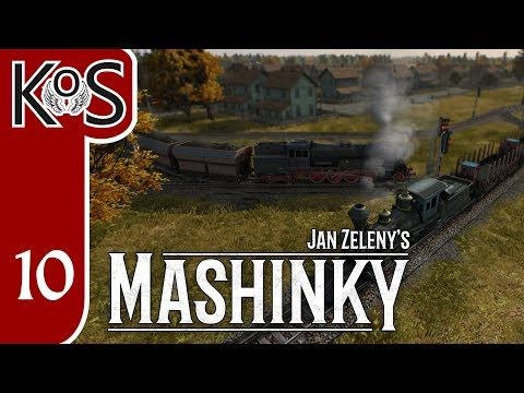 Mashinky Ep 10: ADDING OPTIMIZATIONS... MOSTLY - ALPHA First Look - Let's Play, Gameplay