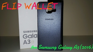 Flip Wallet на Samsung Galaxy A3(2016)