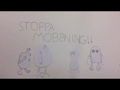 Cartoon characters stop bullying