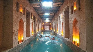 Amazing Building Skills! How To Build The Most Secret Temple Swimming Pools Underground