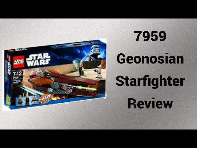 Überteuerte Nostalgie | 7959 Geonosian Starfighter Review [deutsch] | Steinfreund2014