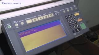 Hướng dẫn xóa lỗi Call for Service trên máy photocopy Toshiba - http://thanhdat.com.vn/