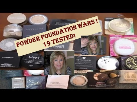 POWDER FOUNDATION Wars! 19 Drugstore & High End Brands Tested !