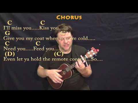 Grow Old With You (Adam Sandler) Ukulele Cover Lesson with Chords/Lyrics - Capo 2nd