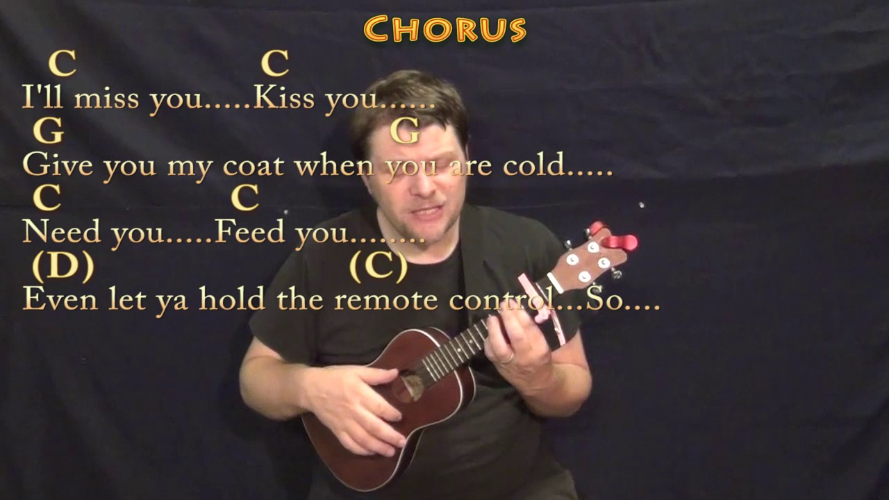 Grow Old With You Adam Sandler Ukulele Cover Lesson With Chords
