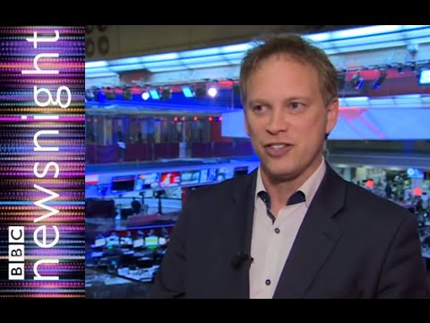 Grant Shapps responds to Wikipedia allegations - Newsnight