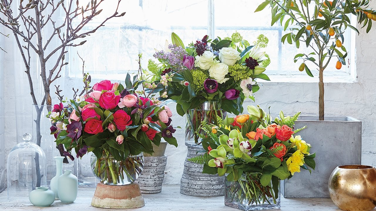 Interior Design — 3 DIY Spring Bouquet Ideas To Try Now - YouTube