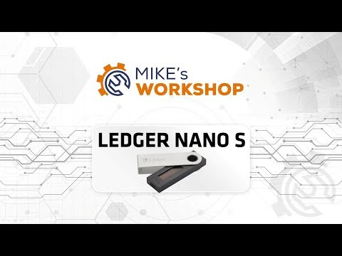 Test portfela sprzętowego Ledger Nano S - Mike's Workshop