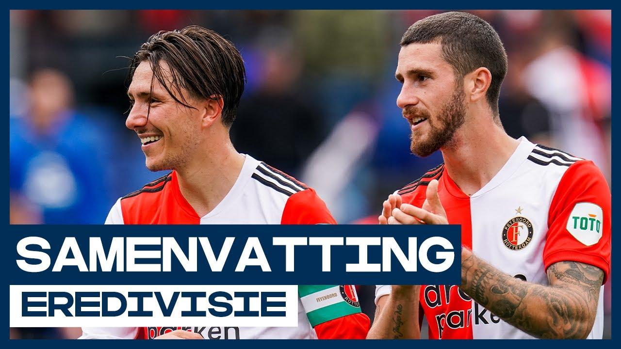 Senesi steelt de show met geweldige omhaal! 😍 | Samenvatting Feyenoord - ADO Den Haag | Eredivisie